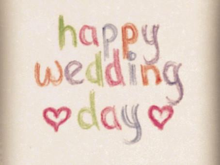 Happy Wedding Day Marlly