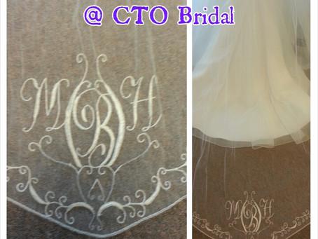 Customized Veils @ CTO Bridal