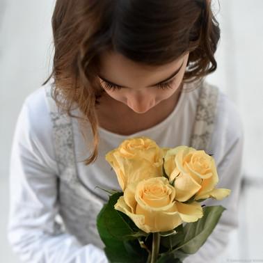 mode et fleurs