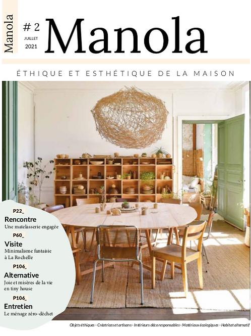 Manola n=°2 - Juillet 2021