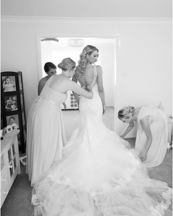 wedding hair and makeup Sydney