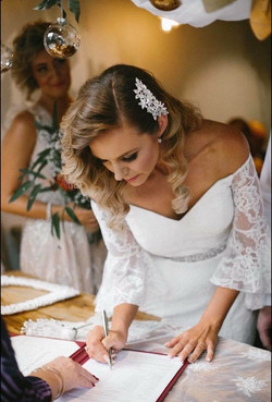 Wollongong wedding hair