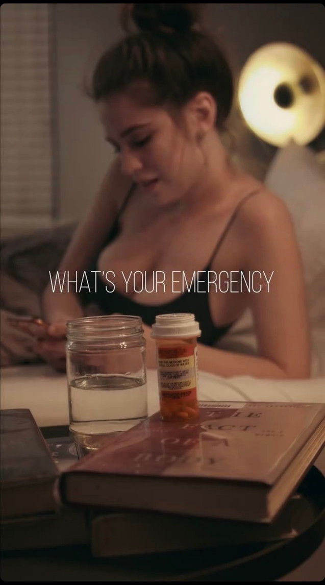 """Still shot from """"What's Your Emergency"""""""