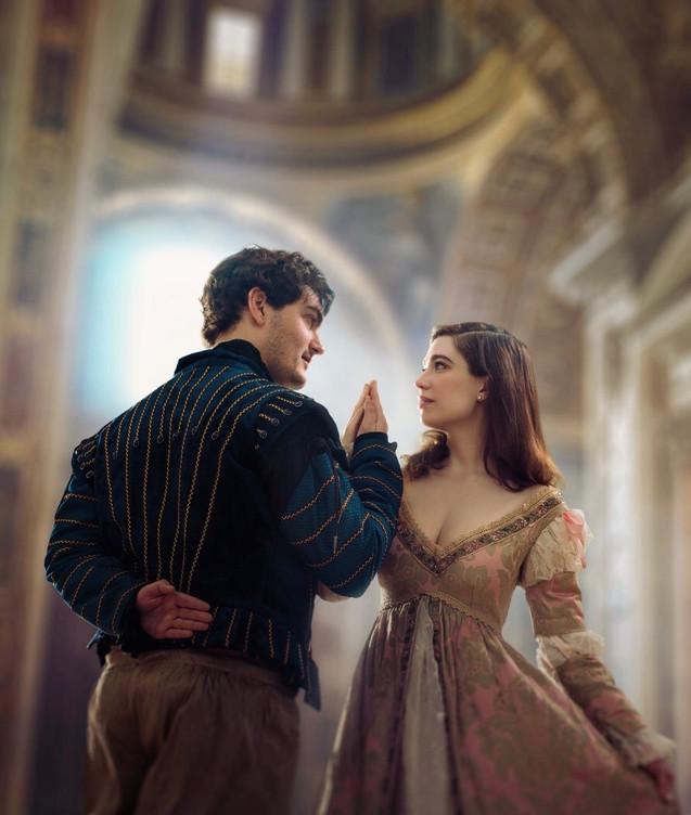 "Viola De Lesseps in the regional premiere of ""Shakespeare in Love"" by Shakespeare Dallas."