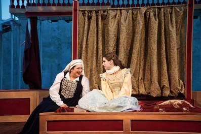 "Viola De Lesseps in the regional premiere of ""Shakespeare in Love"" by Shakespeare Dallas. Photographer Linda Blase"