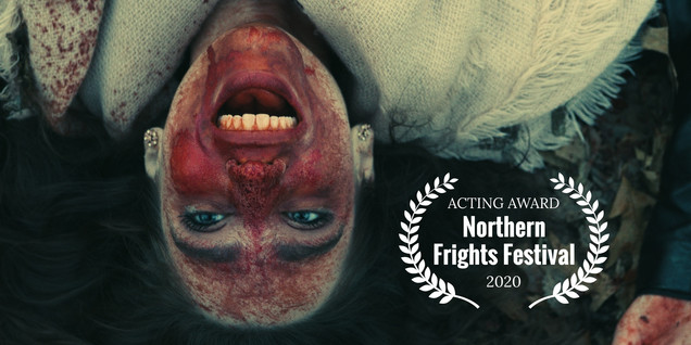 """Awarded Best Actor by the Northern Frights Festival for the role of Lena in """"Heathens""""."""