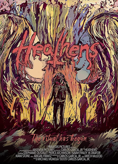 """Poster for """"Heathens"""""""