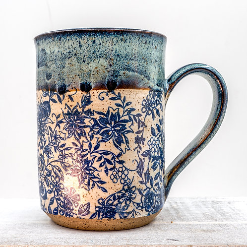Got the Blues Floral Mug