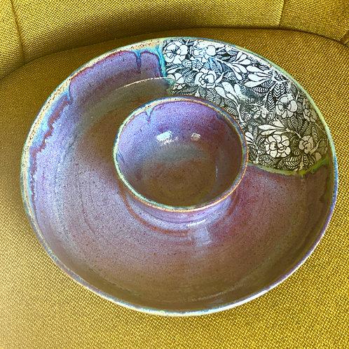 Purple Honey Dip Platter
