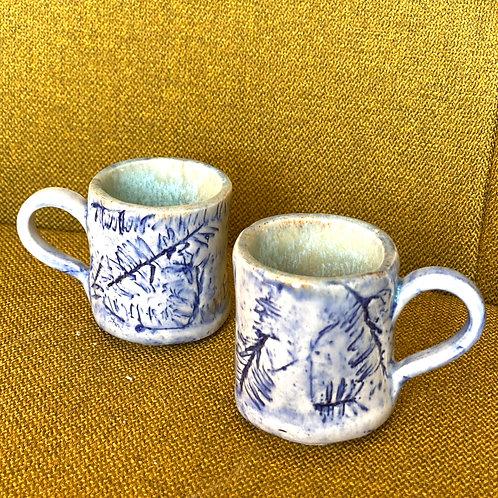 1.5oz  Blue Pine Shot Glasses