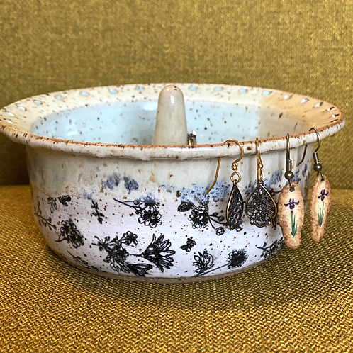 Wildflower Meadow Jewelry Bowl