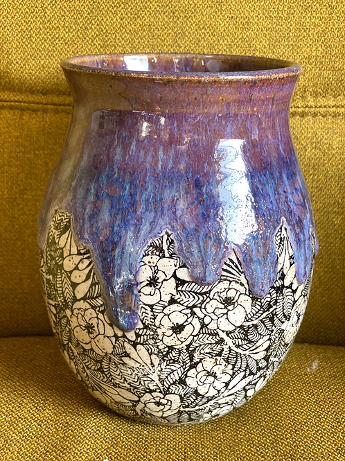 Lavender Honey Bouquet Vase