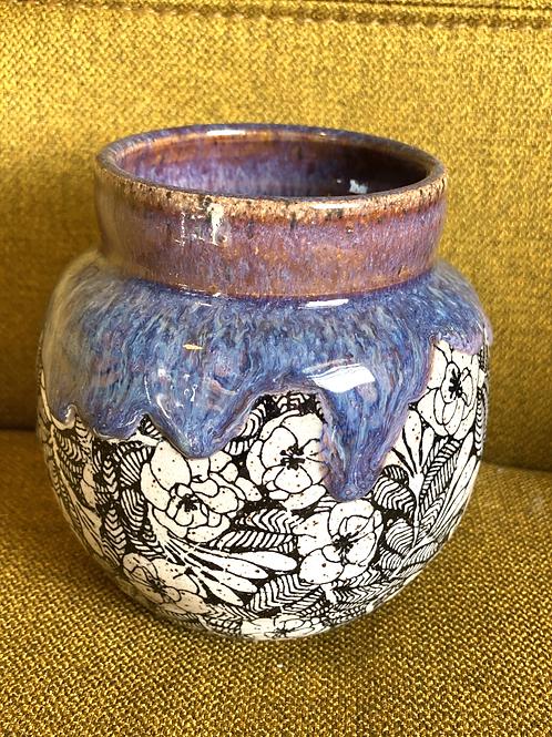 Lavender Honey Little Vase