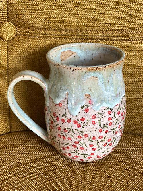 Little Red Anemones Mug
