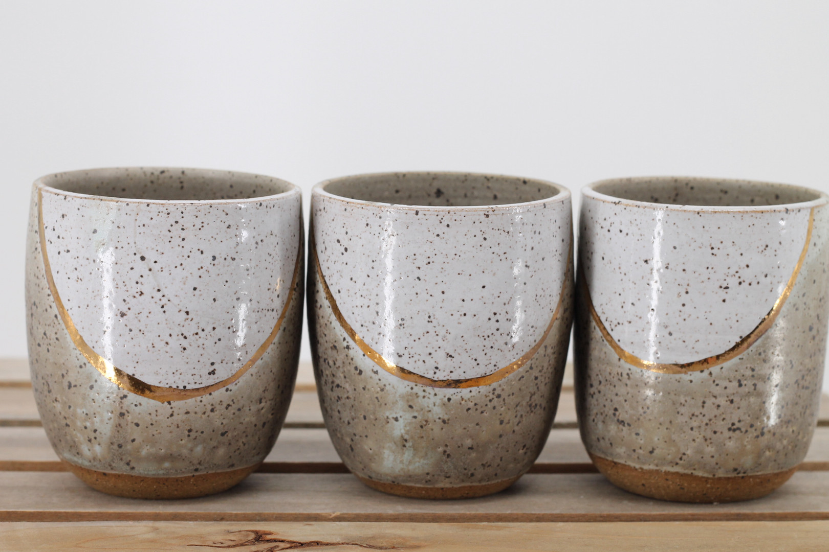 Gold Crescent Cups