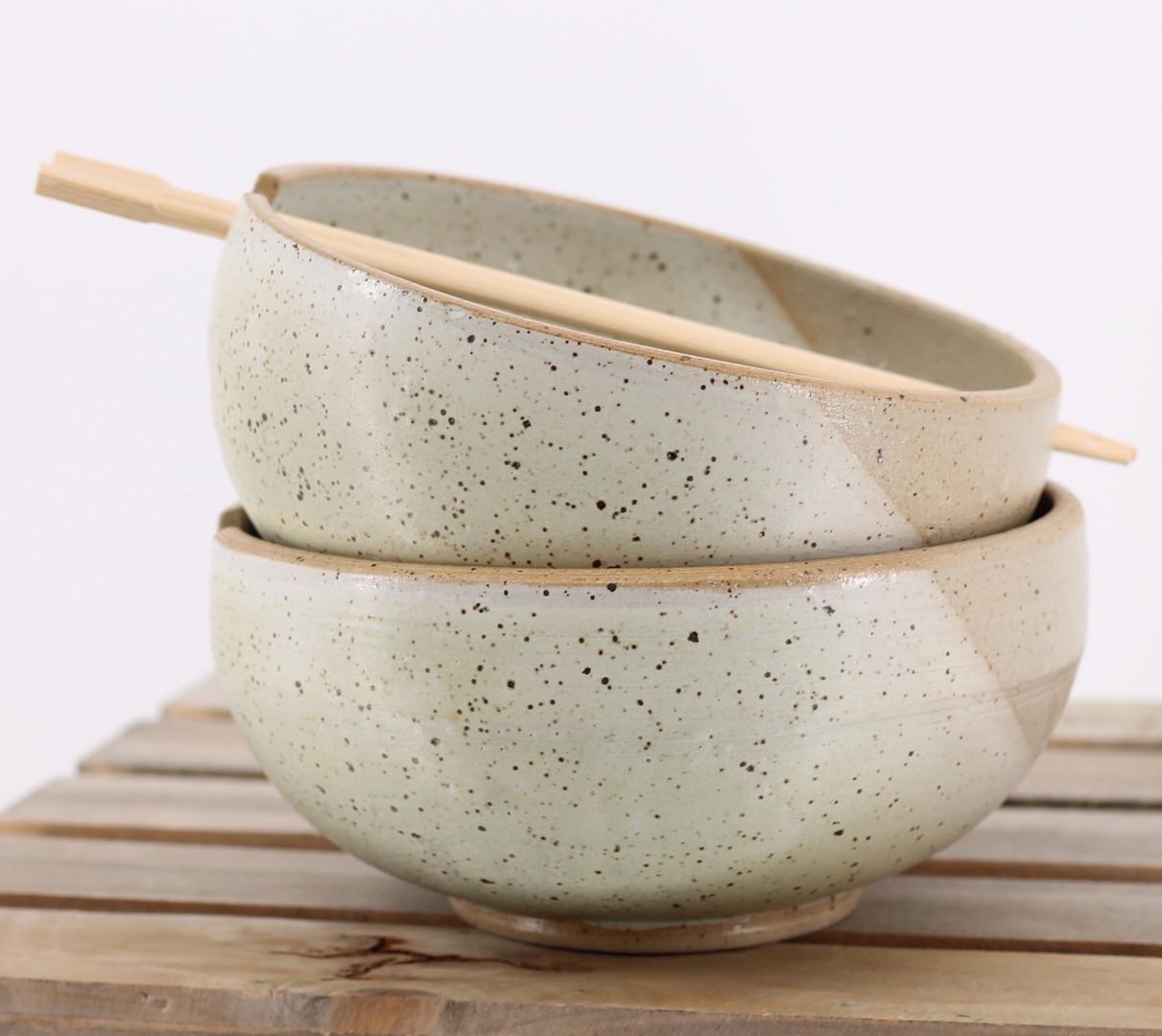 A Pair of Noodle Bowls