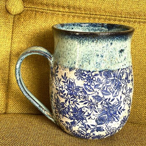 Got the Blues Curvy Mug