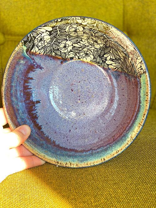 Purple Honey Bowl