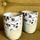 Thumbnail: Pair of Wildflower Meadow Wine Cups