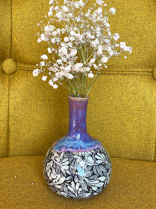 Purple Honey Bud Vase