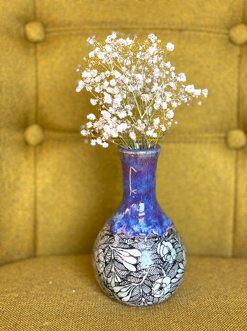 Purple Honey Bud Vase