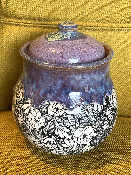 Lavender Honey Tea Jar