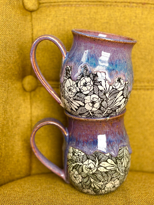 Purple Honey Mug