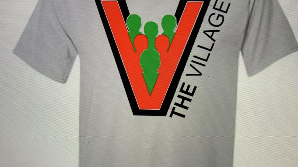 "Grey ""The Village"" T Shirt"