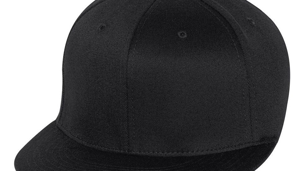 Black Pro Baseball Fitted