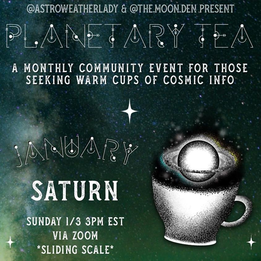 Planetary Tea: Saturn