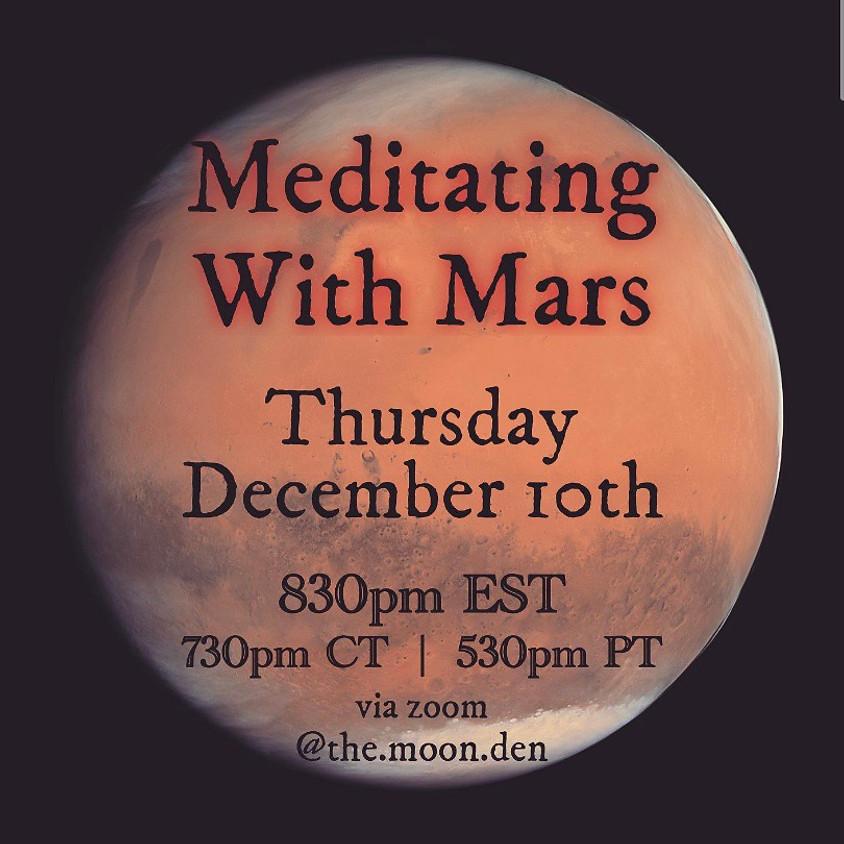 Meditating With Mars