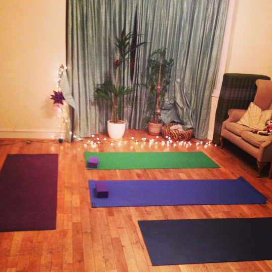 Second #lighthouseyoga session tonight!
