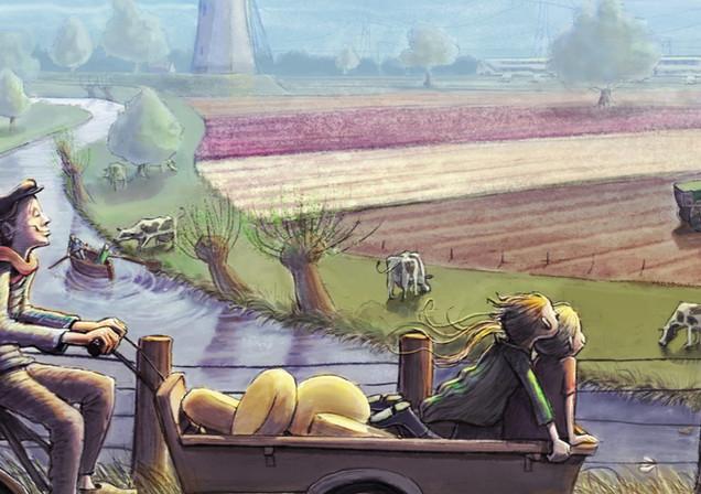 hollands landschap kleur .jpg