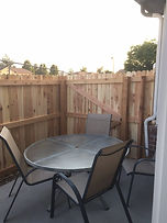 Townhome Privacy Fence