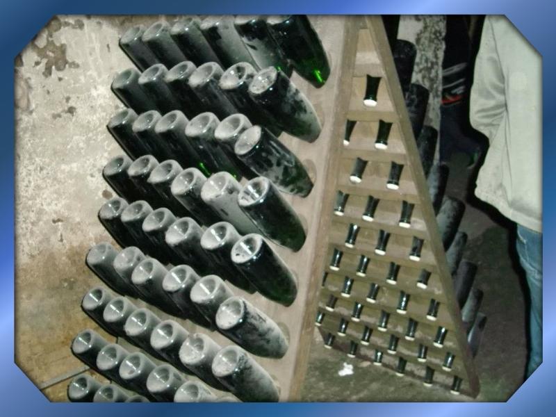 Le stockage des bouteilles