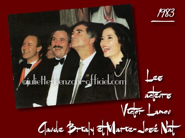 Victor Lanoux, JC Brialy, M-José Nat