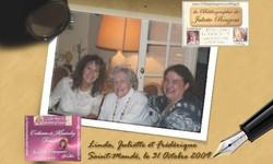 Rencontres avec Juliette Benzoni