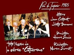 "L'équipe de la série TV ""Catherine"""