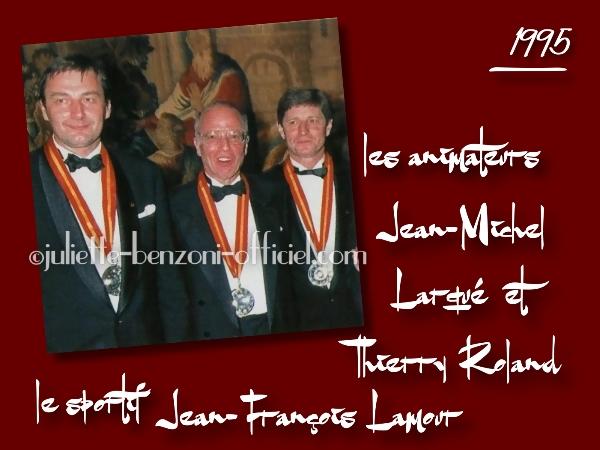 J-F. Lamour, Th. Roland, J-M; Larqué