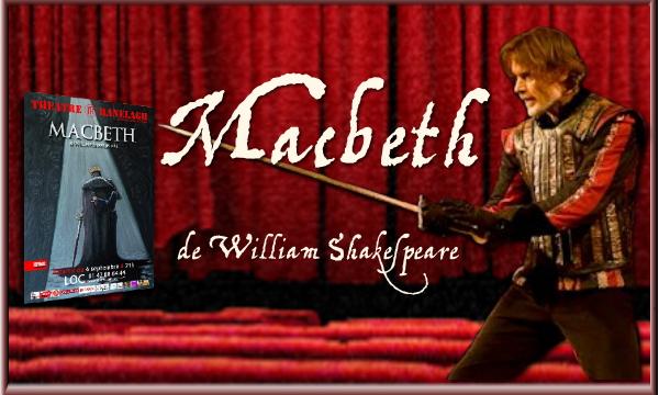 Laurent Le Doyen est Macbeth