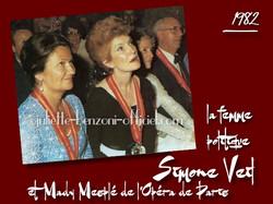 Simone Veil et Mady Mesplé