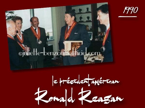 Le président Reagan