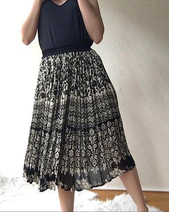 Yin Yang midi skirt  xs/s or s/m
