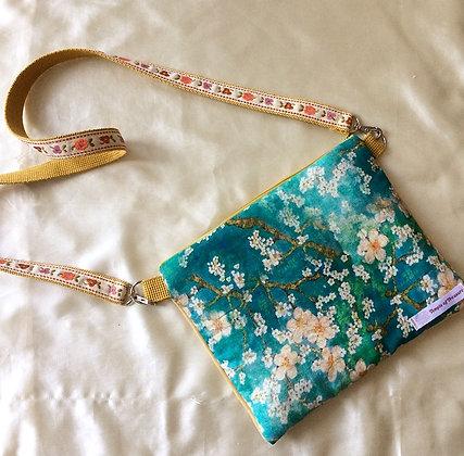 Sakura pouch bag + Strap