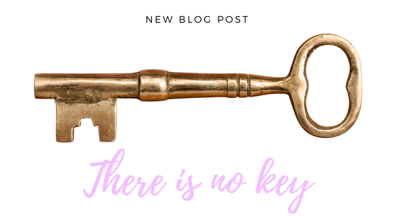 There is no key