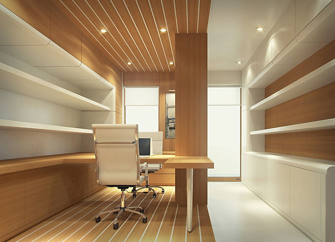 Pre-Crafted office, eco materials