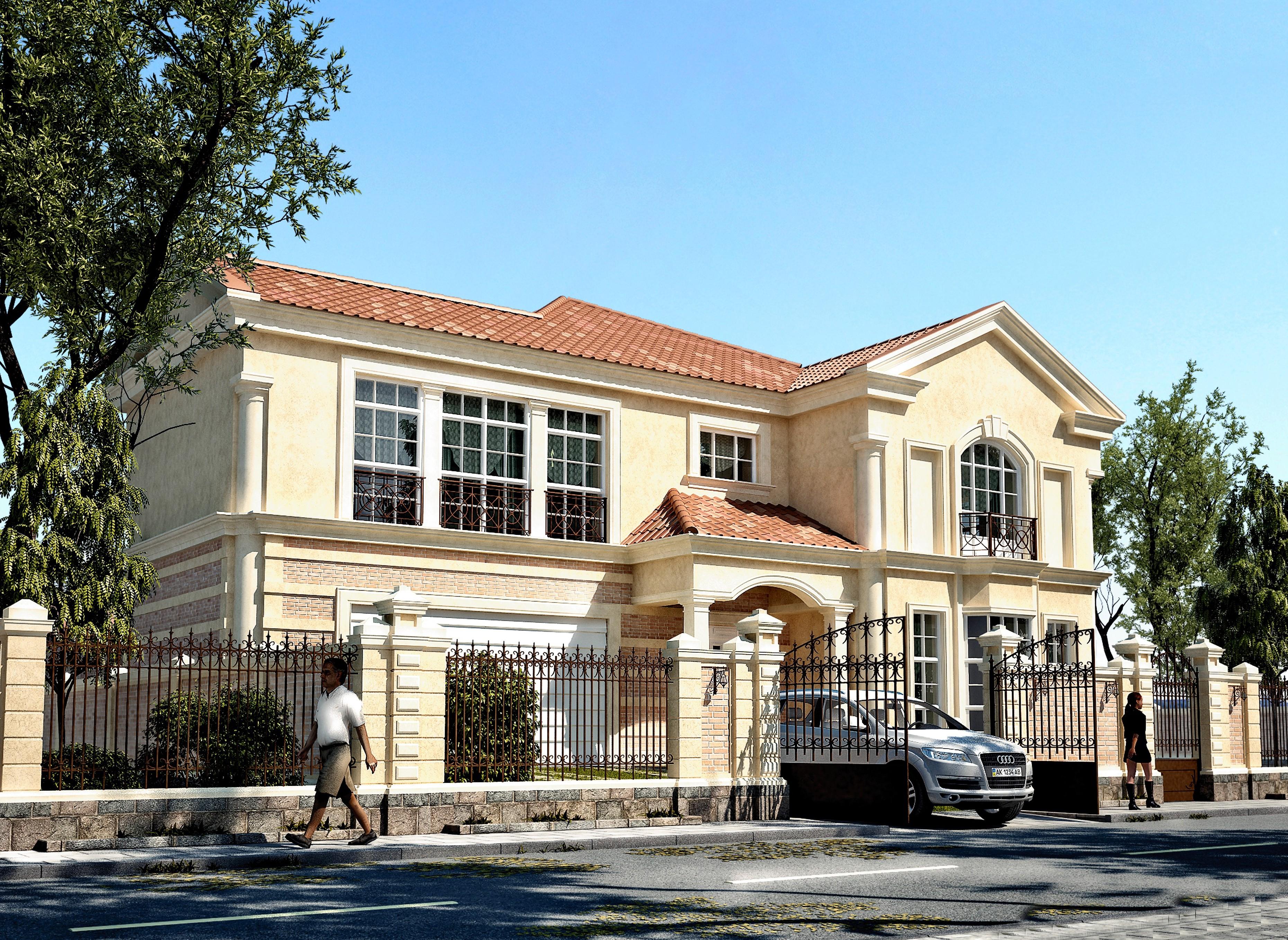 Royal Gardens, House T10, Entrance