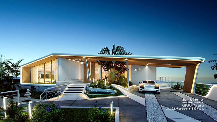 Luxury front seaview Villa 5 bedrooms