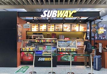 "Kiosk for ""SUBWAY"". Design, Production, Installation."