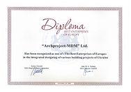 AWARD. Best Enterprises of Europe